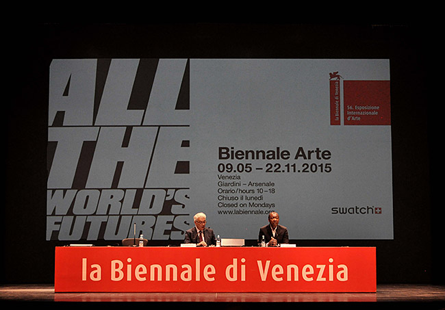All the World's Futures. La Biennale di Venezia. 56 Esposizione Internazionale d'arte