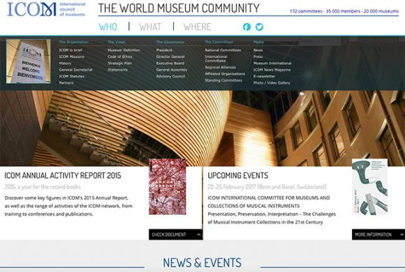 ICOM. International Council of Museums