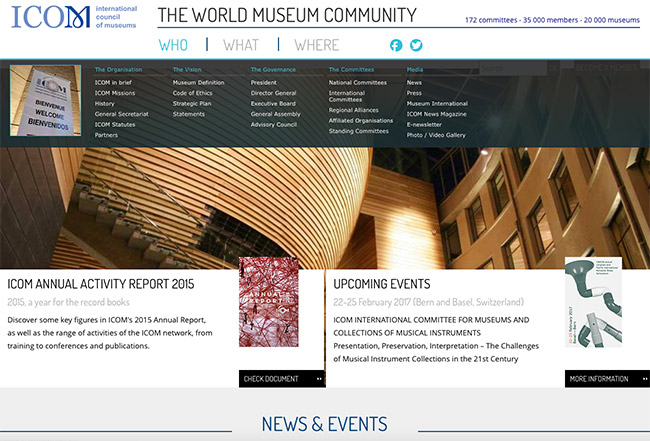 ICOM - International Council of Museums