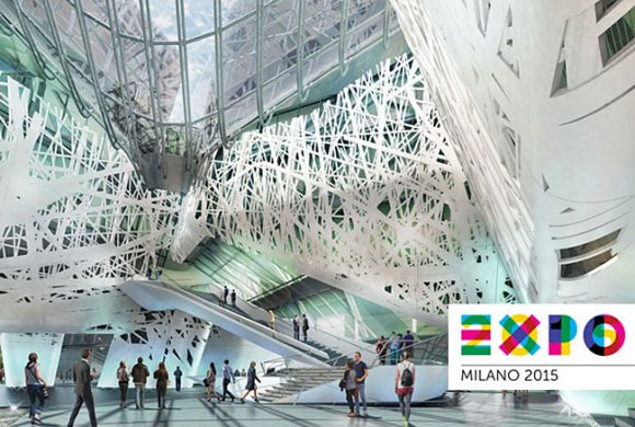 Expo Milano 2015. Pavilions by Nussli