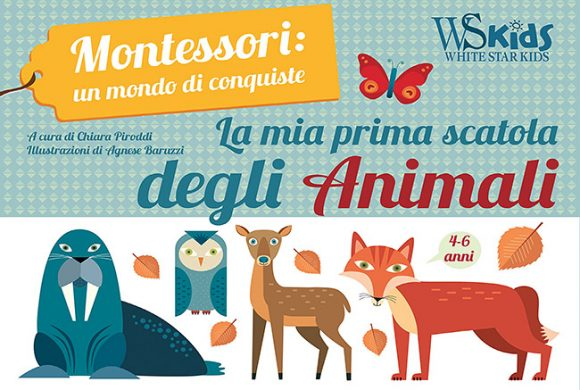 Montessori. My first box of Animals