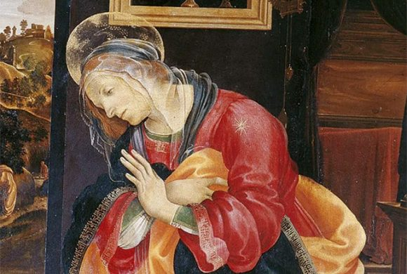 Filippino Lippi. The Annunciation