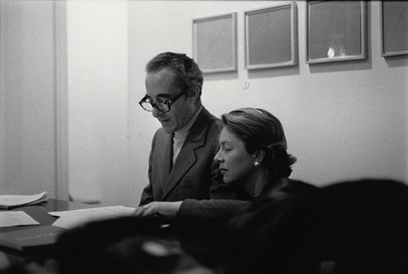 Giuseppe and Giovanna Panza, collectors