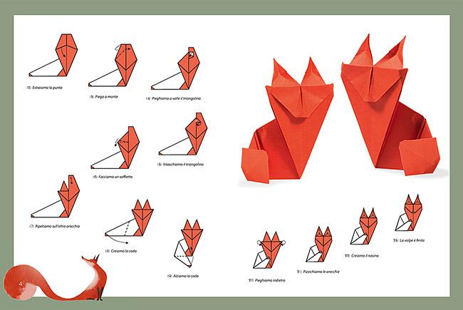 Origami La Fontaine
