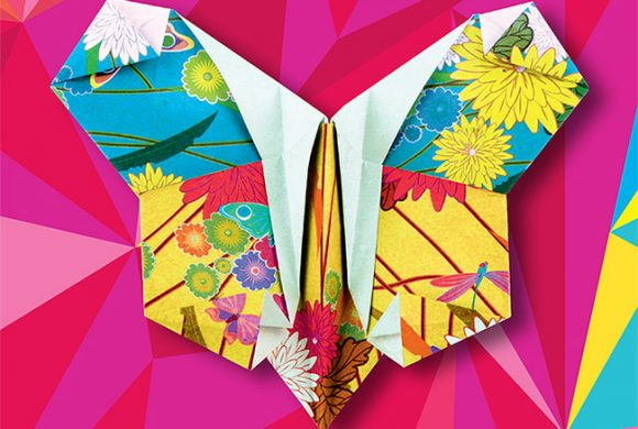 Farfalle in origami