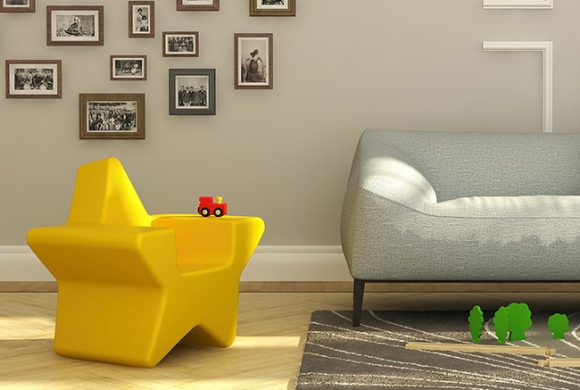 Little Star Chair by R. Paoli. Kickstarter