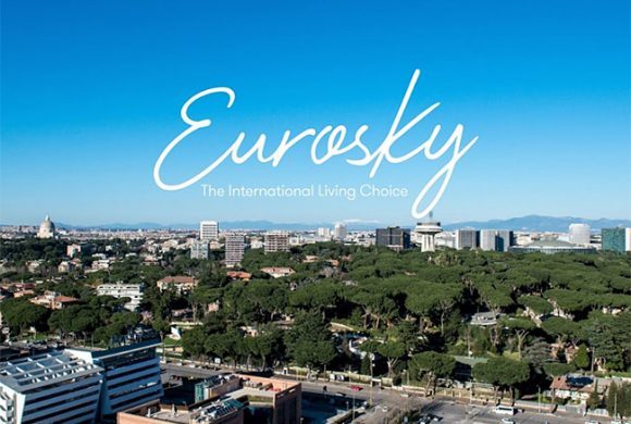 Eurosky Tower. Roma