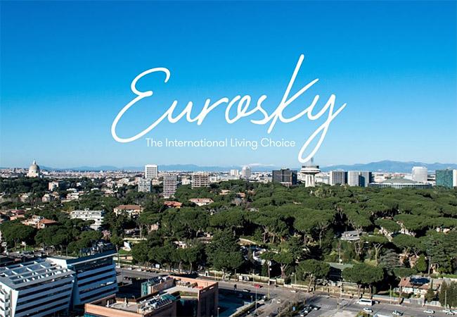 Eurosky Tower. Roma