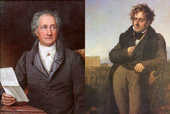 Goethe et Chateaubriand. Regards croisés devant les paysages